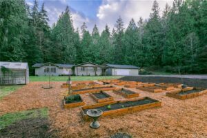 Front Yard | 7265 NE VINCENT RD, BAINBRIDGE ISLAND _ 3 BR, 2 BT,  2,160 SF,  2.58 ACRES _ $795K _ MLS# 1694737