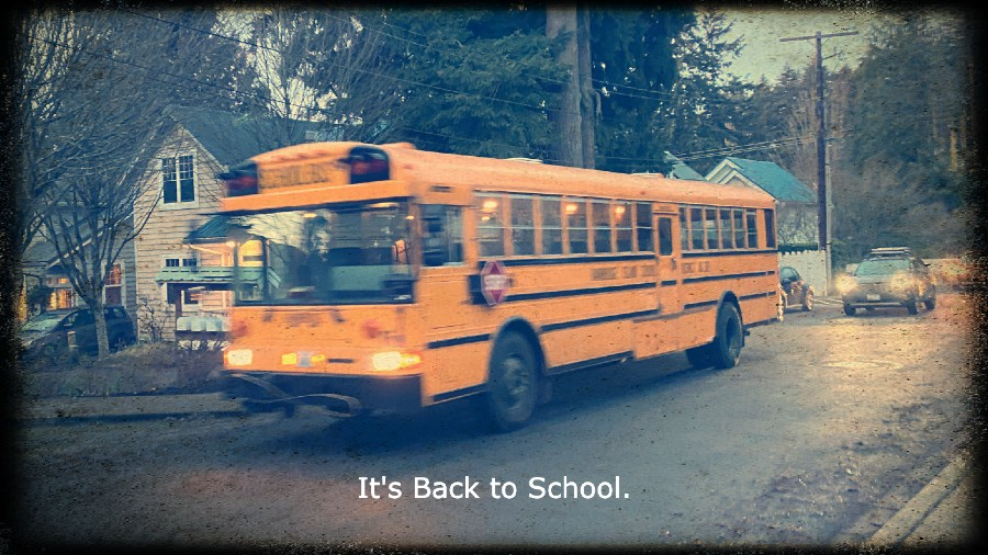 Bainbridge Island School District Bus Back to School Day
